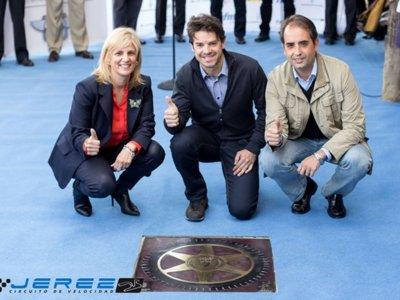 Séptima estrella en el Paseo de la Fama de Jerez para Carlos Checa