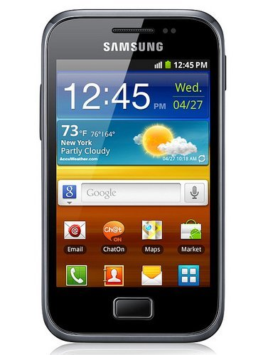 Samsung Galaxy Ace Plus presentado oficialmente