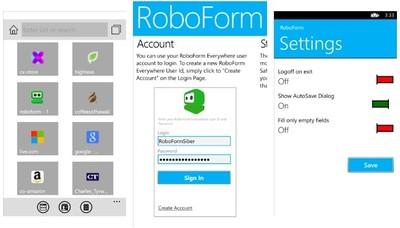 Gestiona todas tus contraseñas fácilmente en Windows Phone con RoboForm