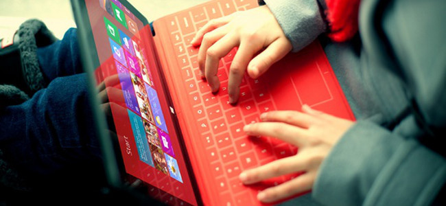 Surface RT con Touch Cover