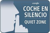 Los vagones silenciosos para viajar en AVE sin gritos, teléfonos ni música y el pago por PayPal, novedades de Renfe