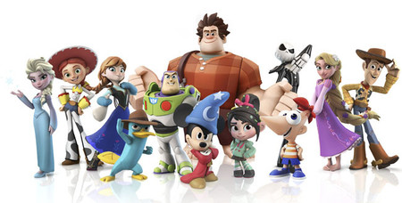 nuevos muñecos de disney infinity fans de la animación esconded