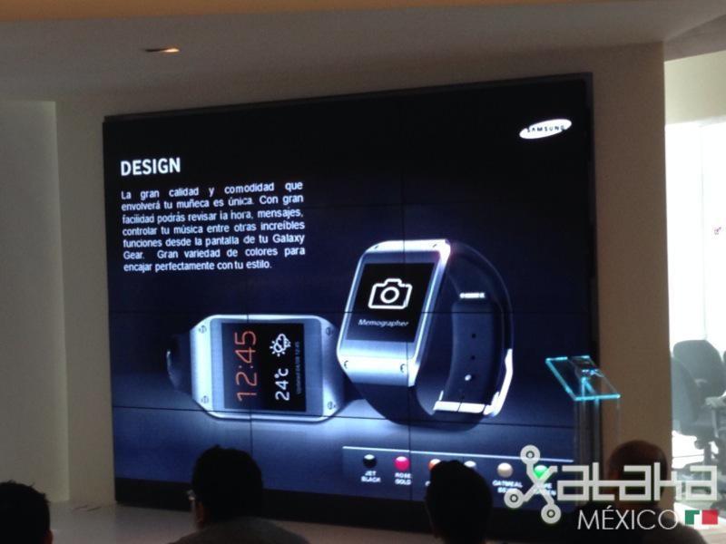Foto de Samsung Galaxy Gear en México (1/12)