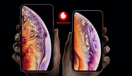 Precios iPhone XS y iPhone XS Max con tarifas Vodafone