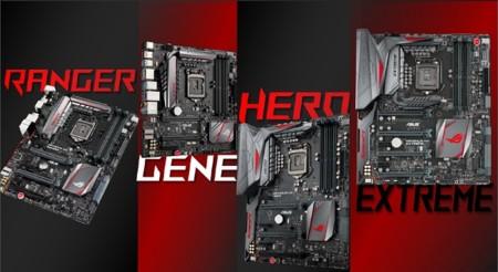 ASUS no se queda atrás, tenemos adelanto de sus motherboards ROG Z170 Series