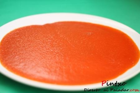 Salsa de tomate ultra rápida. Receta