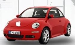 """Apple y Volkswagen podrían estar en negociaciones para diseñar el """"iCar"""""""