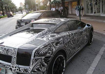 Lamborghini Gallardo Nera al estilo MacBook de Pep