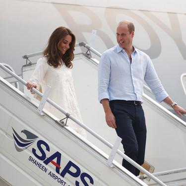 Kate Middleton sigue apostando por las túnicas en su visita oficial a Pakistán