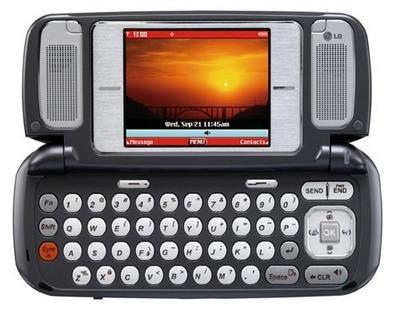 the V, vaya teléfono móvil
