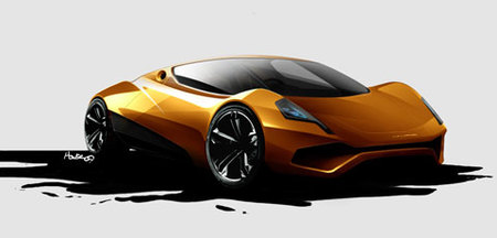 P1-E Project, deportivo eléctrico de un ex-diseñador de McLaren