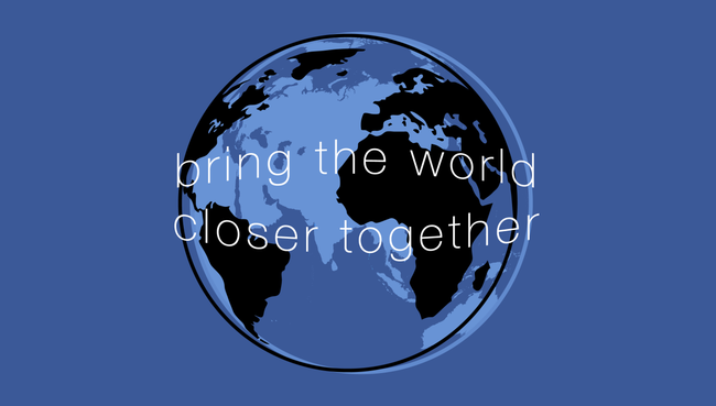 Faceboo Mission Statement Bring The World Closer Together