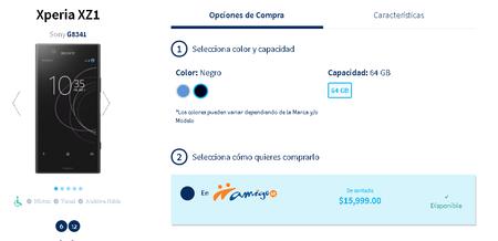 Sony Xperia Xz1 Precio Telcel Mexico