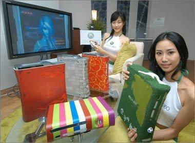 XBox 360 a la moda, carcasas de diferentes estilos
