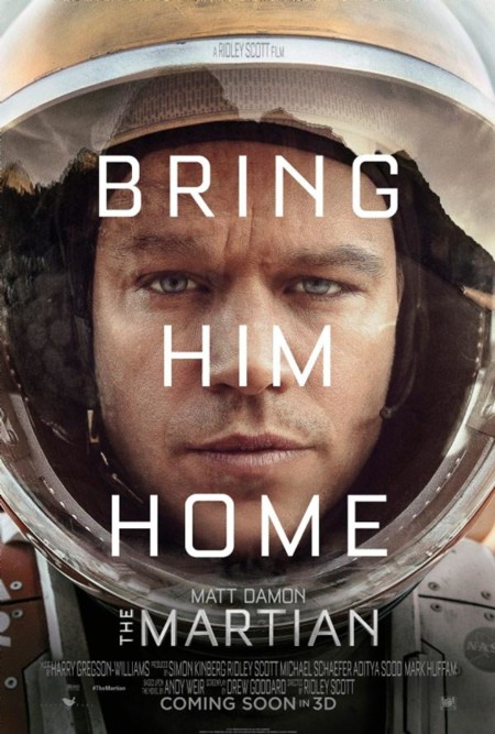 El primer cartel de The Martian