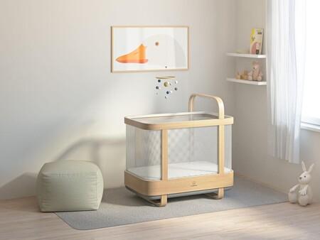 Una cuna inteligente predice cuando va a despertarse el bebé y le mece antes de que empiece a llorar
