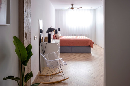 Diseno Vivienda Reforma Integral Gran Via Valencia Dormitorio Peanut Design Studio Enue Construccion 9