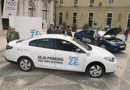 Renault Fluence ZE Taxi