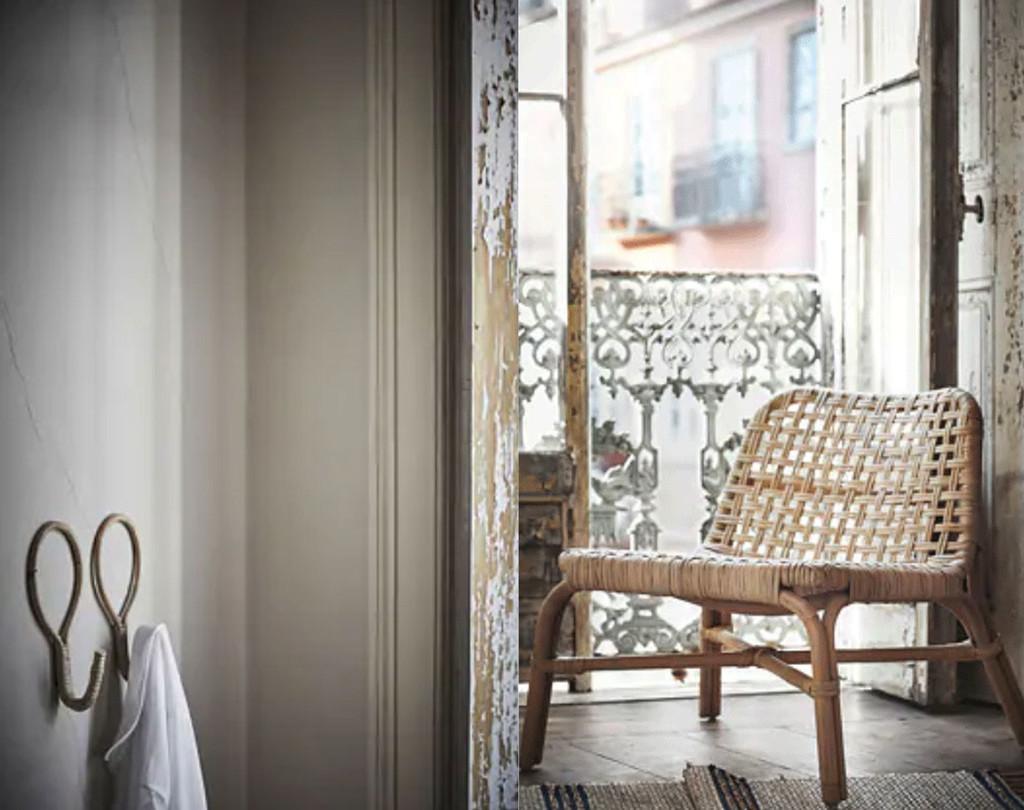 Nueve piezas fibras naturales de Ikea válidas para interior o exterior