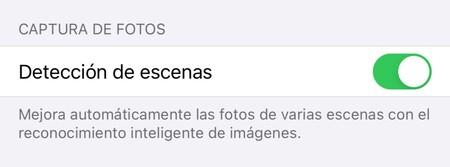 Detección imágenes apple