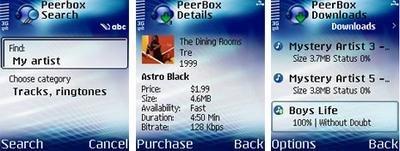 P2P en los teléfonos móviles
