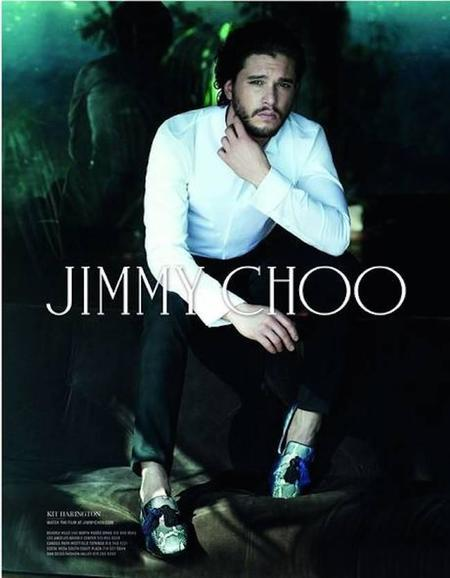 Kit Harrington toma el trono en Jimmy Choo