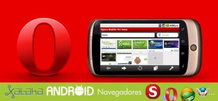 Navegadores en Android: Opera Mobile
