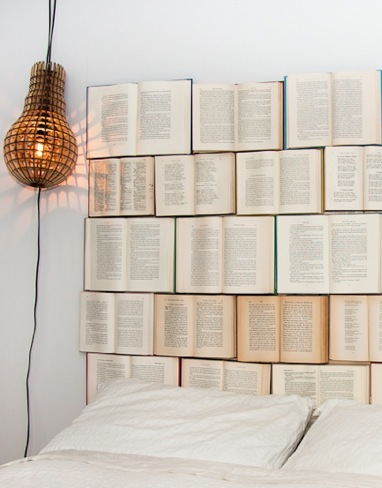 Hazlo tú mismo: un cabecero de libros