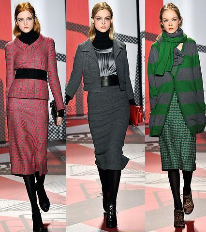 DKNY Otoño Invierno 2009/2010 en la Semana de la Moda de Nueva York