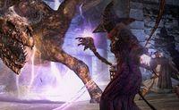 Una muestra del enorme potencial del hechicero en 'Dragon's Dogma: Dark Arisen'