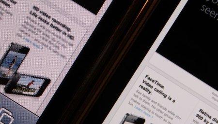 apple iphone 3gs 4 comparación pantalla retina display