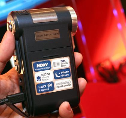 Aiptek Pocket DV 2300 HD, grabación HD a bajo precio