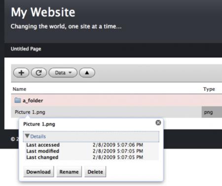 WeaverFM, plugin de gestión de archivos para RapidWeaver