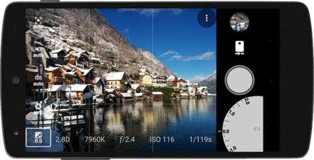 AZ Camera, otra cámara con soporte para la API 2, pero gratuita