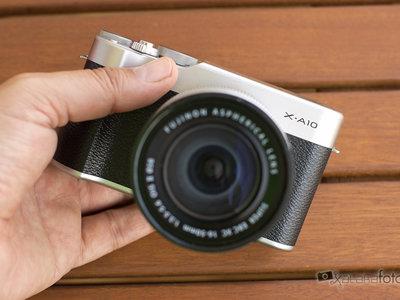 Fujifilm X-A10, análisis: sencilla y modesta para iniciarse en el mundo de las mirrorless