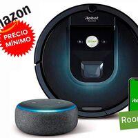 Más barato todavía: el pack con el Roomba 981 y el Echo Dot tiene un nuevo precio mínimo en Amazon de 419 euros