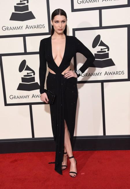 Bella Hadid Grammy 2016