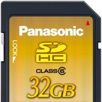 Tarjetas SDHC de 32 GB, de Panasonic