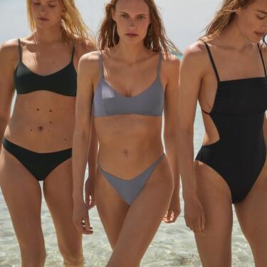 Oysho estrena nueva colección de bañadores y bikinis minimalista y sostenible