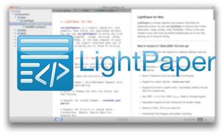 LightPaper, un editor de texto compatible con Markdown que deberías probar