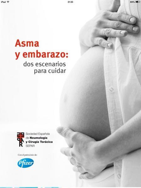 Asma y embarazo app