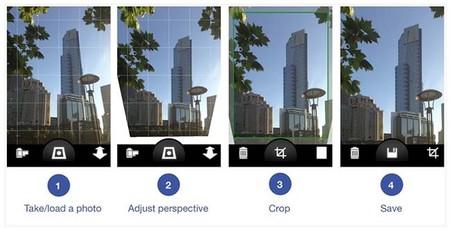 Perspective Correct, corrigiendo en vivo la perspectiva de tus fotos en iOS