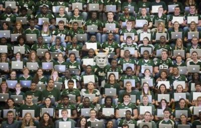 Imagen de la semana: da gusto ir a la universidad de South Florida