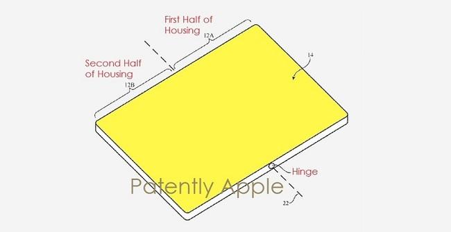 Patente Apple Iphone Plegable