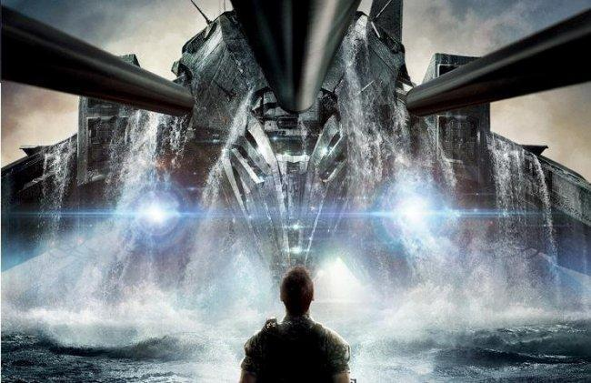 Fragmento del cartel de 'Battleship'