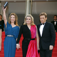 Emmanuelle Bercot y Catherine Deneuve