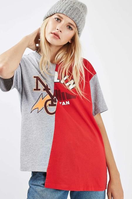 ¿No puedes escoger entre tus dos camisetas favoritas? Con la tendencia spliced no tendrás que hacerlo