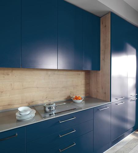 Es el azul el color del 2017 para tu cocina todo apunta for Cocina pintura pato azul