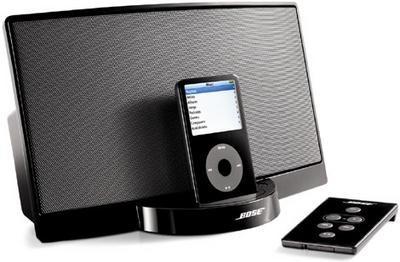 SoundDock de Bose se vuelve negro