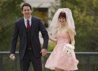 Rachel Mcadams Vow Short Wedding Dress